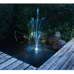 LED světelný kroužek modrá