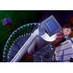 Solárny reťaz 48 LED