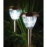 Venetian Solárna záhradná lampa sada 2 lámp