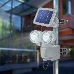 Solárny PIR senzorový reflektor Esotec DUO Power