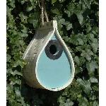 Ptačí budka Slza otvor 32 mm s ochranou proti kočkám
