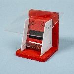 ochranná klapka ku dreveným čmelínom červená