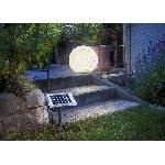 Solárna záhradná guľa Esotec Mega Stones 106021 40cm kamenná