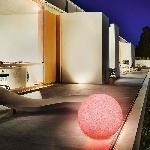 Solární zahradní koule Esotec Mega Stones 106022 50cm kamenná