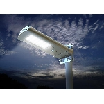 Solární pouliční lampa na sloup 7W 1000lm