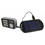 Solárné rádio POWERplus Stork s budíkom a hodinami