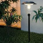 Záhradná solárna lampa SolarCentre Henley SS9897 stĺpiková