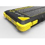 Solární nabíječka 1W 8000 mAh žlutá