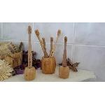 Curanatura Bambusový stojan na 1 zubnú kefku