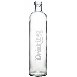 Drink it Sklenená fľaša s neoprénovým obalom Lentilka 500ml