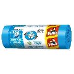 Fino Pytle z recyklovaného plastu na tříděný odpad na papír 120l modré 10 ks