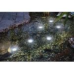 LED podvodné svetlá Esotec Super Splash 102150 set 6 svetiel