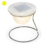 Solární LED designová stolní lampa Esotec 102024 teplá bílá