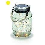 Solární LED dekorační závěsná lampa Esotec Garland 102083
