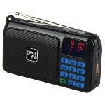 Solárne rádio POWERplus Crow s MP3 prehrávačom