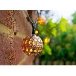 Solárna LED reťaz SolarCentre Elan Copper Ball SS9954 20 LED