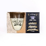 The Greatest Candle sada 1x svíčka 130 g a 2x náplň hřebíček a skořice
