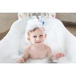 Good Bubble Darková sada Dětská pěna do koupele Dračí ovoce 400ml a žínka Dexter Dragon