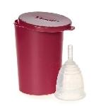 Yuuki Menstruační kalíšek včetně sterilizačního kelímku Classic velký