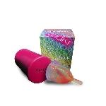 Yuuki Rainbow Menstruační kalíšek včetně sterilizačního kelímku Soft malý