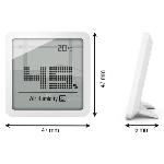 Stadler Form Digitální teploměr a vlhkoměr SELINA little bílá
