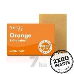 Friendly Soap prírodné mydlo pomaranč a grep 7ks zero waste balenie