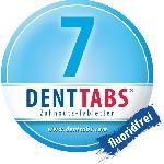 DENTTABS prírodná zubná pasta v tabletách bez fluoridu 125 ks dóza
