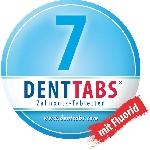 DENTTABS přírodní zubní pasta v tabletách s fluoridem 125 ks dóza