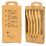 Pandoo Bambusová vidlička sada 5 ks