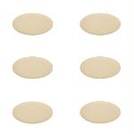 Pandoo Bambusový talíř 20 cm sada 6 ks bílý