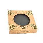 Pandoo Bambusový tanier 20 cm sada 6 ks čierny