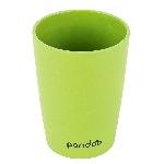Pandoo Bambusový kelímek 390 ml sada 6 ks zelený