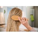 Pandoo Bambusový kartáč na vlasy s přírodními štětinami