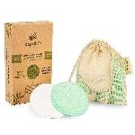 Pandoo Bambusové prateľné odličovacie tampónky 10 ks