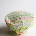 The Vegan Food Wraps Opakovaně použitelný obal s rostlinným voskem Velký set 5 ks