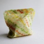 The Vegan Food Wraps Opakovaně použitelný obal s rostlinným voskem Střední set 3 ks
