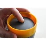 rCUP Kelímek na kávu Cream and Black 227 ml