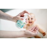 Good Bubble Dětská mycí emulze a šampón Okurka a Aloe Vera 250ml