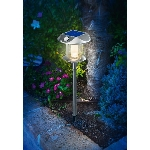 Esotec Solárna LED lampa Sunnylight PIR 102092 Duo Color