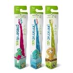 Preserve Dětský zubní kartáček Soft Růžový