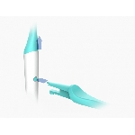 TIO Náhradné hlavice k zubnej kefke Medium ľadovcovo modrá 2 ks