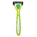 Preserve Holicí strojek Shave 5 včetně 1 hlavice Limetkově zelený
