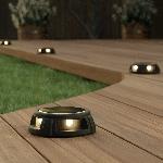 SolarCentre solární podlahové osvětlení Tapdance sada 2 teplá bíla