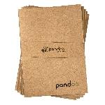 Pandoo Poznámkový blok z bambusových vlákien A4 5 ks