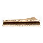 Pandoo Poznámkový blok z bambusových vláken A5 5 ks