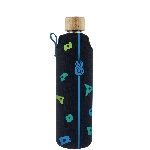 Drink it Skleněná láhev s neoprénovým obalem Horolezec 350ml