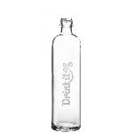 Drink it Skleněná láhev s neoprénovým obalem Tyrksit 350ml