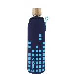 Drink it Skleněná láhev s neoprénovým obalem Dešťovka 350ml