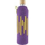 Drink it Skleněná láhev s neoprénovým obalem Xylofonka 500ml