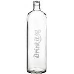 Drink it Skleněná láhev s neoprénovým obalem Asketa Černej 500ml